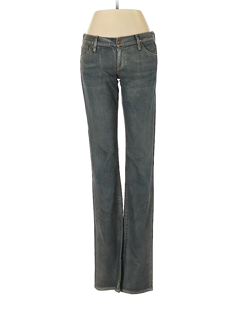 Gold Sign Women Jeans 27 Waist