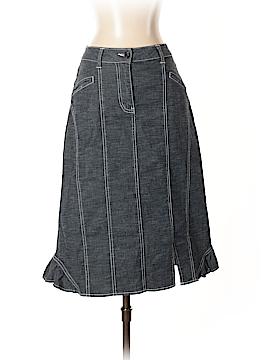Simon Chang Denim Skirt Size 4