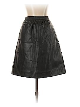 Ann Taylor LOFT Faux Leather Skirt Size S (Tall)