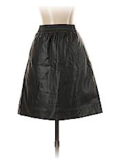 Ann Taylor LOFT Women Faux Leather Skirt Size S (Tall)