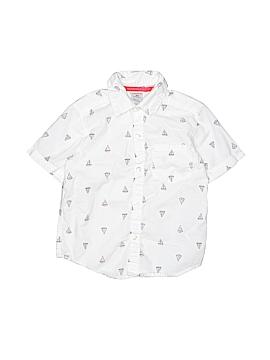 Carter's Short Sleeve Button-Down Shirt Size 3T