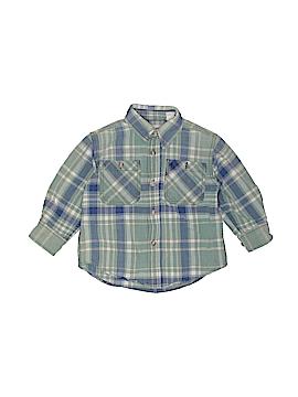 Gap Long Sleeve Button-Down Shirt Size xxs