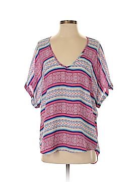 Liberty Love Short Sleeve Blouse Size S