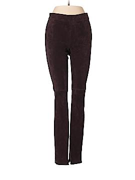 Elie Tahari Leather Pants Size XS