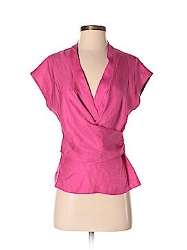 Trina Turk Short Sleeve Silk Top Size 0
