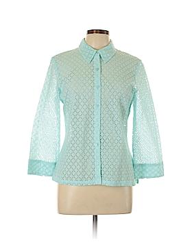 Sigrid Olsen Sport Long Sleeve Blouse Size L
