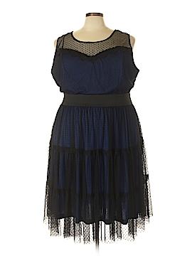 Lucie Lu Casual Dress Size 5X (Plus)