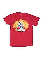 Mikey Stars Boys Short Sleeve T-Shirt Size S (Youth)