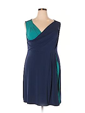 Daisy Fuentes Casual Dress Size 1X (Plus)