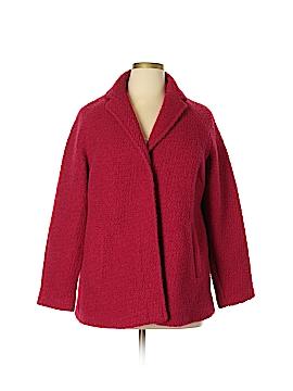 Lands' End Wool Coat Size 14