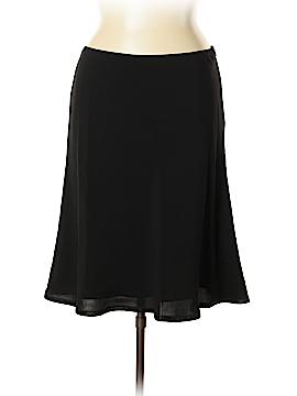 Kate Hill Silk Skirt Size 16