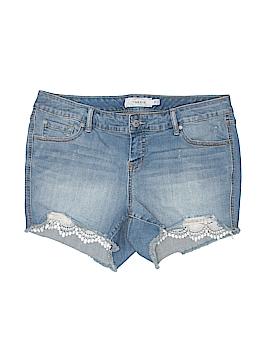 Torrid Denim Shorts Size 14 (Plus)