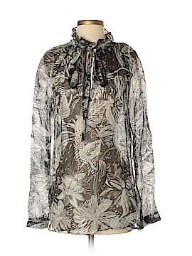 Armani Collezioni Long Sleeve Blouse Size 2