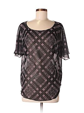 Sisley Short Sleeve Blouse Size XS