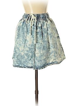 Sparkle & Fade Denim Skirt Size S