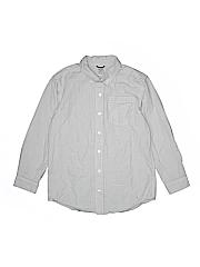 Gymboree Boys Long Sleeve Button-Down Shirt Size 10