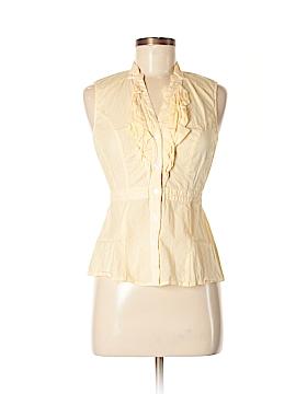 Fei Sleeveless Button-Down Shirt Size 2