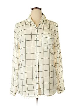 About A Girl Long Sleeve Button-Down Shirt Size XL
