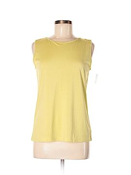 Susan Bristol Sleeveless Silk Top Size M