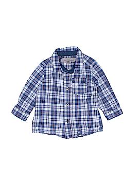 H&M L.O.G.G. Long Sleeve Button-Down Shirt Size 6-9 mo