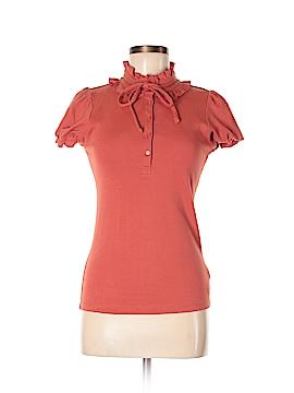 Rio Rao Short Sleeve Blouse Size M