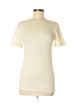 Giorgio Armani Short Sleeve Silk Top Size M