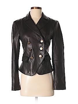L'Agence Leather Jacket Size 2