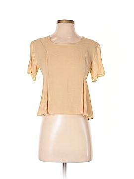 Giorgio Armani Short Sleeve Blouse Size 4