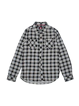 Quiksilver Long Sleeve Button-Down Shirt Size 16