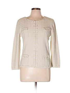 Cable & Gauge Silk Cardigan Size L