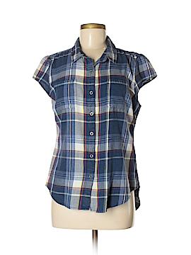 Ruff Hewn Short Sleeve Button-Down Shirt Size M