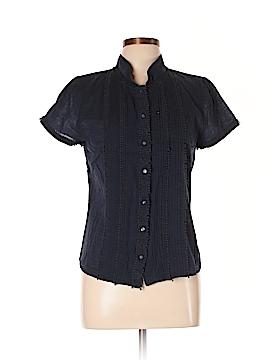 J. Crew Factory Store Short Sleeve Button-Down Shirt Size 10