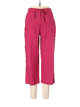 Sag Harbor Linen Pants Size 10 (Petite)