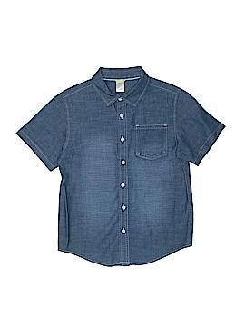 Gymboree Short Sleeve Button-Down Shirt Size 10-12