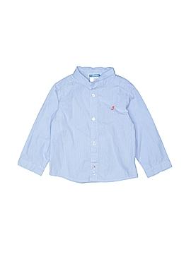 Jacadi Long Sleeve Button-Down Shirt Size 18 mo