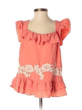 Floreat Short Sleeve Blouse Size 2
