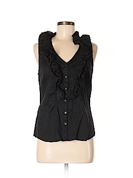 Ann Taylor Factory Sleeveless Button-Down Shirt Size 6