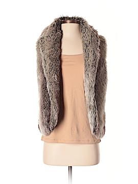 XXI Faux Fur Vest Size S