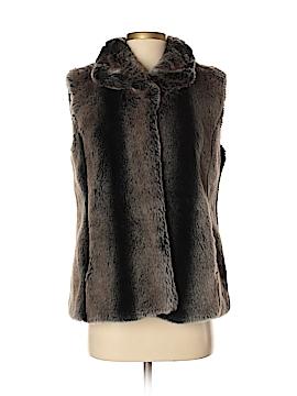 Kristen Blake Faux Fur Vest Size S