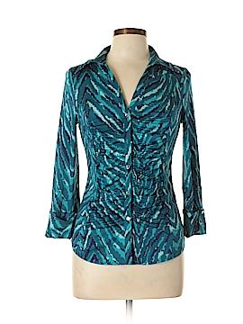 INC International Concepts 3/4 Sleeve Blouse Size M