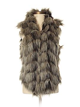 Guess Faux Fur Vest Size XS