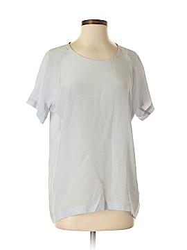 Hilton Hollis Short Sleeve Silk Top Size XS