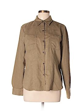 Jones Wear Long Sleeve Button-Down Shirt Size 12
