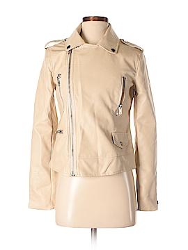 Dance & Marvel Faux Leather Jacket Size S