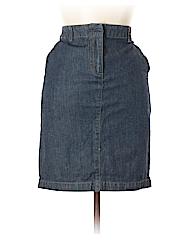 Kenneth Cole REACTION Women Denim Skirt Size 6