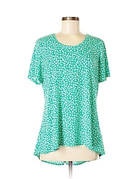 Susan Graver Short Sleeve Top Size M
