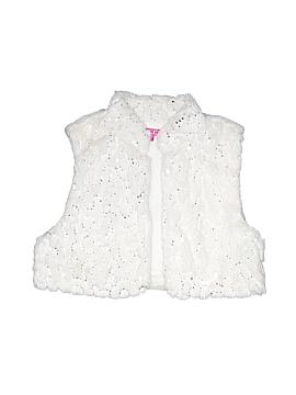 Glo Faux Fur Vest Size X-Large (Youth)