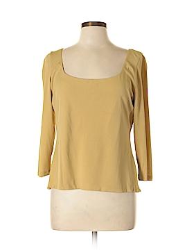 W by Worth 3/4 Sleeve Silk Top Size L