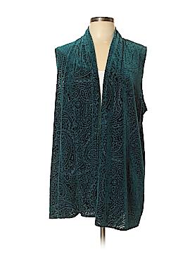 Susan Graver Cardigan Size L