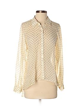Bar III Long Sleeve Blouse Size S